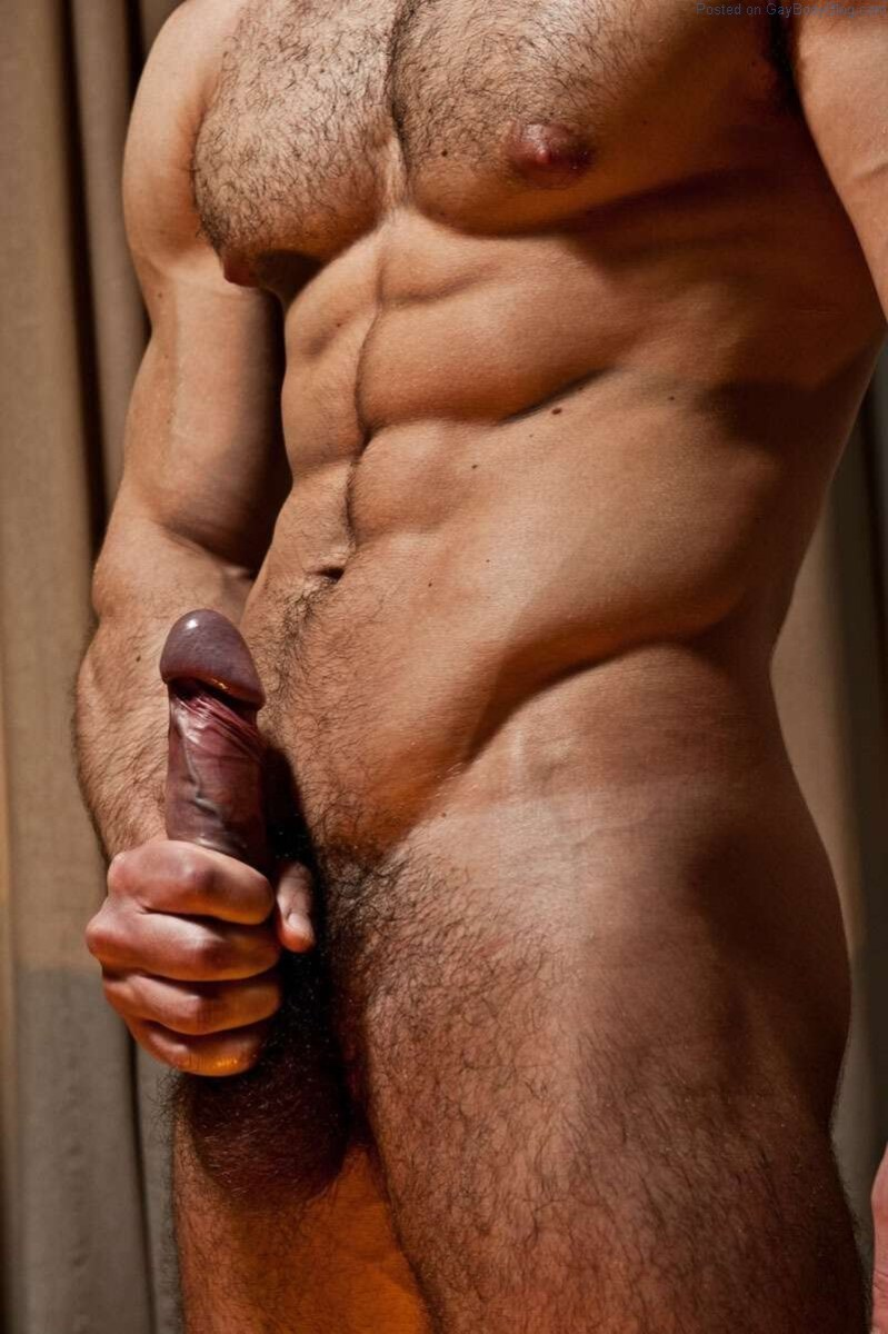 Handsome And Muscled Male Model Paolo Bellucci Naked And Hard