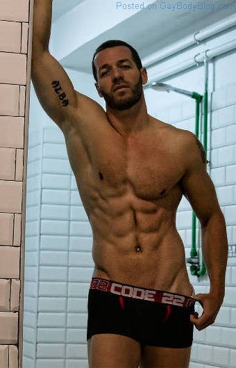 Does Anyone Know Who This Rugged Jock Hunk Is?