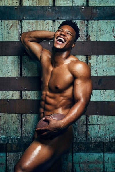 Saquon Barkley Naked For ESPN