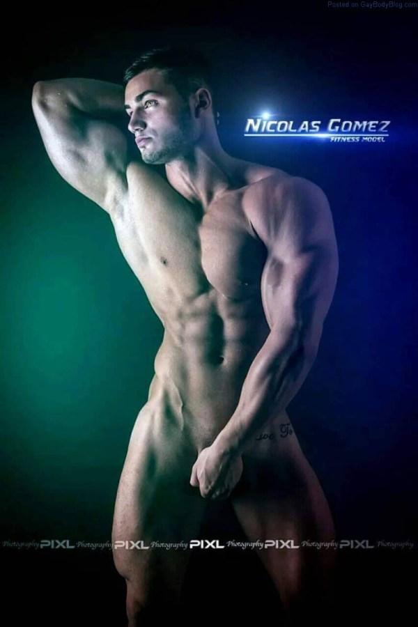 male model Nicolas Gomez