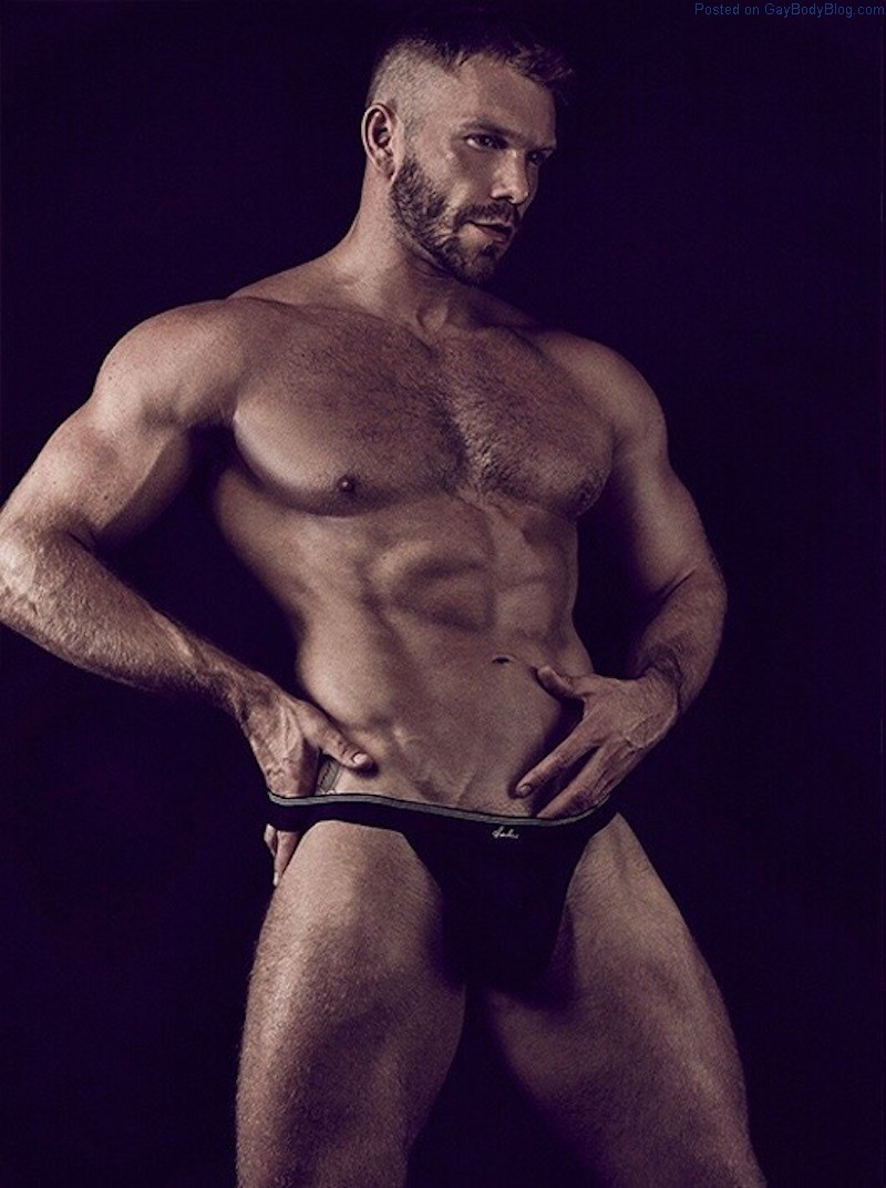It's About Time We Had More Of Muscled Model Kevin McDaid