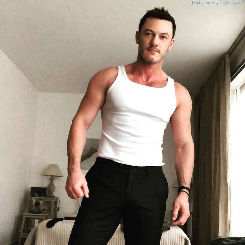 Out Welsh Actor Luke Evans Is My Crush Right Now