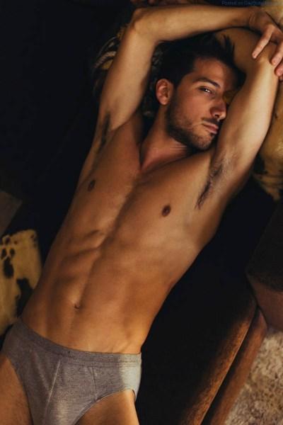 male model Tiago Lima