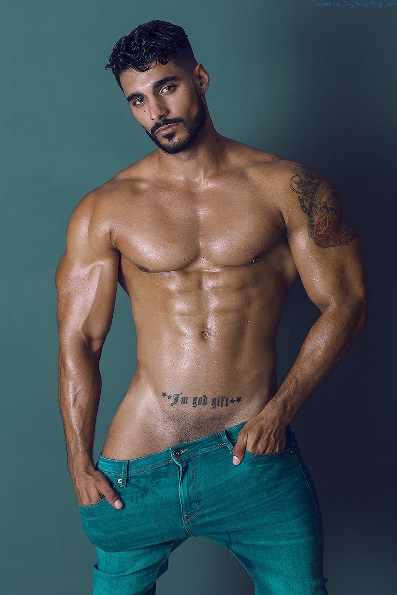 Josué Jiménez Wants To Tease You With His Bulge