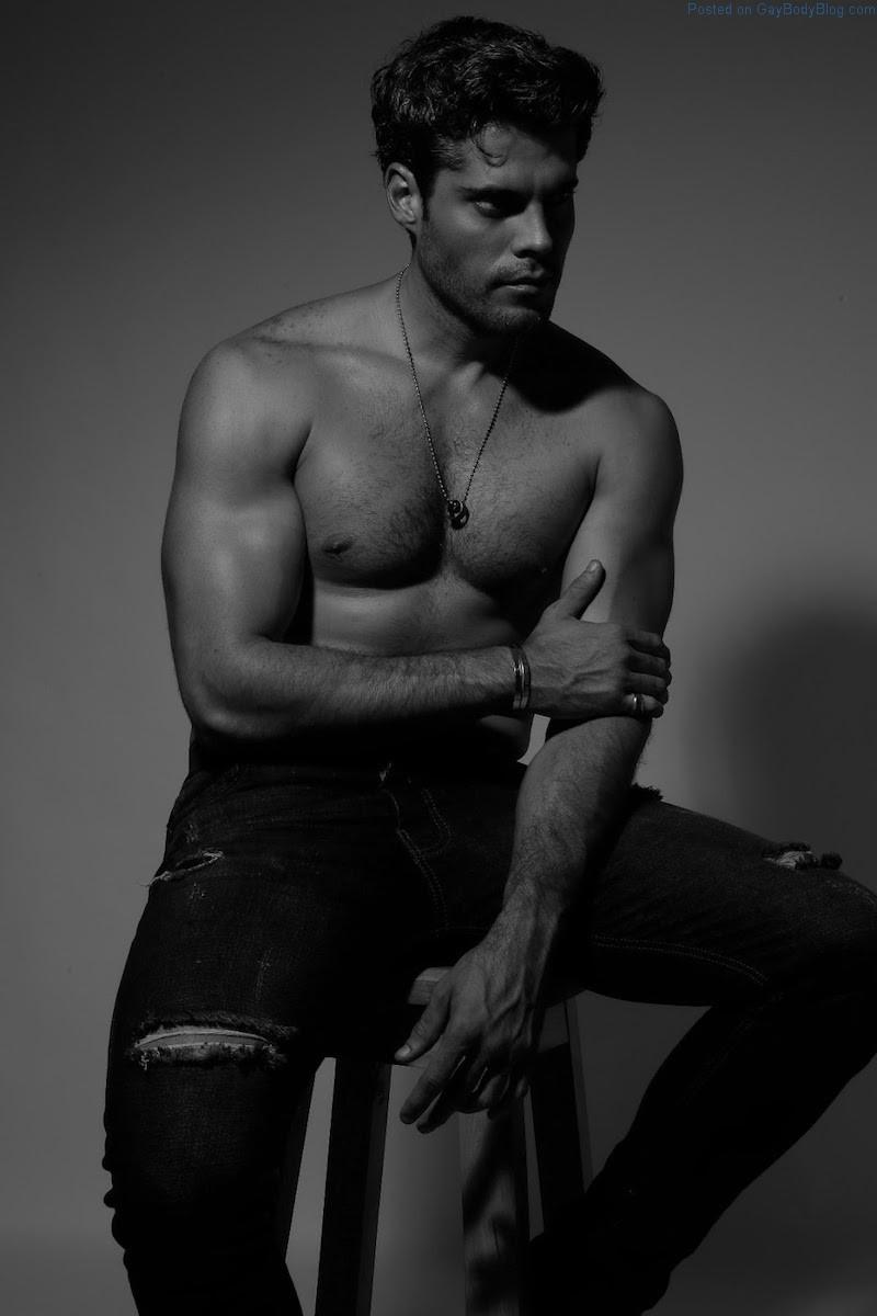 Models man black xxx muscle