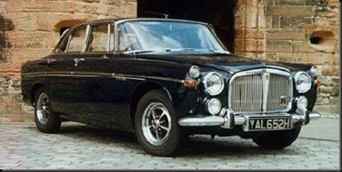 rover P5 3500 coupe
