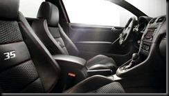 golf GTI 35 editon interior