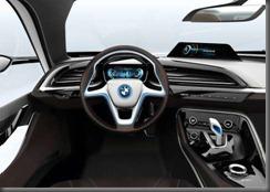 BMW i 8 dash