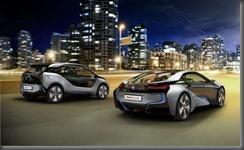 BMW I range rear
