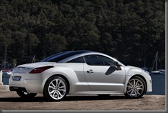 RCZ Pearl White Side