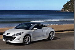 RCZ Pearl White Three Qtr Front (2)