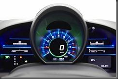 Honda CR-Z luxury speedo in normal mode