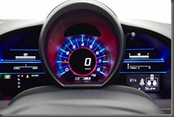 Honda CR-Z luxury speedo in sports mode