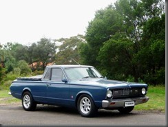 This rare 1966 Valiant VC Wayfarer Utility fitted with the rare 273-cid V8