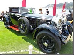 1930 Bentley Speed Six Gurney Nutting Weymann Sportsman's Coupe