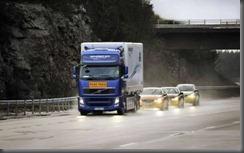 SARTRE projecy roadtrain volvo  (1)