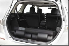 Honda Odyssey rear seats (2)