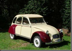 citroen 1988 2CV6 Dolly