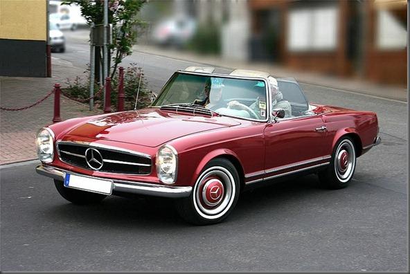 Mercedes-Benz 230 SL pergoda  1964