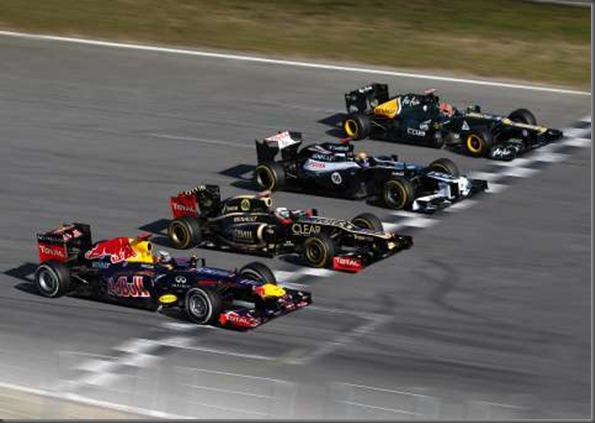 renault Circuit de Catalunya for round five of the 2012 championship