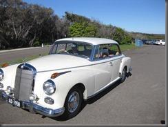 1958 mercedes 300 at north head (2)