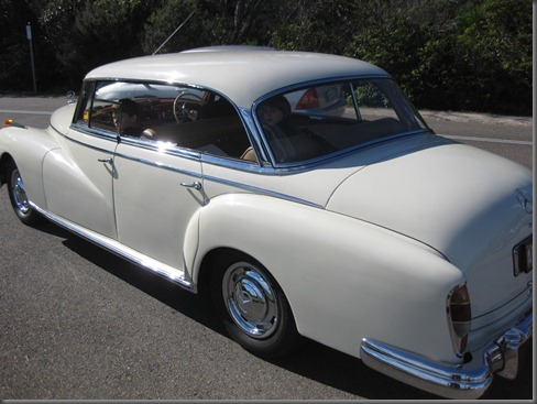 1958 mercedes 300 at north head (3)