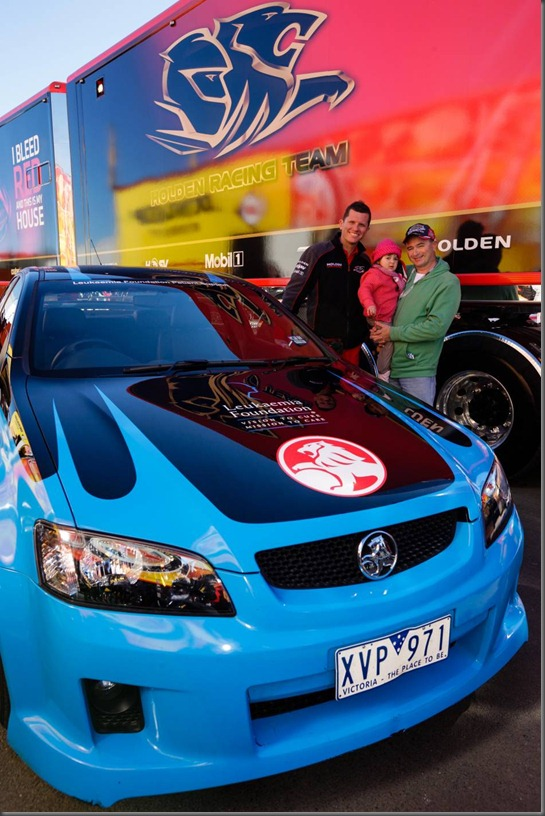 garth tander holden and the leukaemia foundation