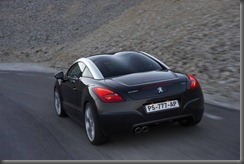 RCZ raer black driving