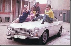 The Saint Volvo p1800