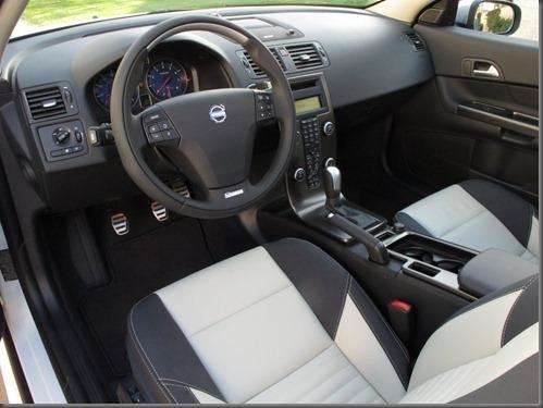 volco C30 interior aluminium steerig wheel insert