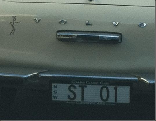 Volvo p1800 the saint