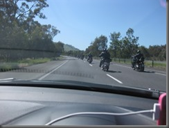 100 Rebels out for a ride Hume HWY (2)