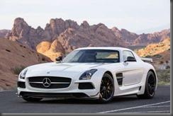 Mercedes Benz SLS AMG Black (8)