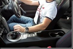 2012 Toyota 86 GTS seating position