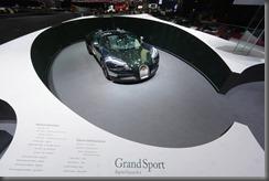 Geneva 2013 bugatti Grand Sport Green Carbon