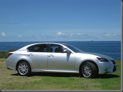 Lexus GS450h and f sport (1)