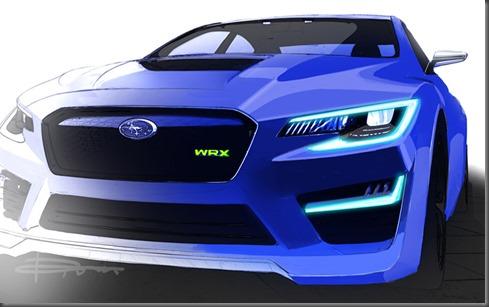 Subaru WRX concept front