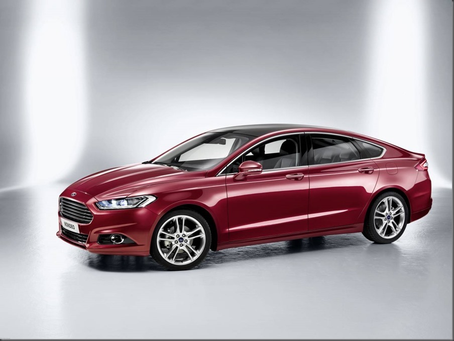 Go Further - All-New Ford Mondeo (UK)