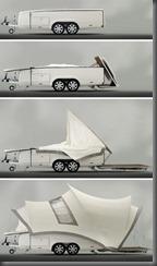 Opera Camper folding out