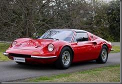 1974 Ferrari Dino 246 GTS Spyder