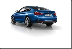 BMW 4 Series Coupe rear