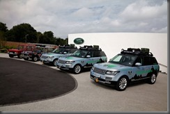 Land Rover completes world's first hybrid expedition along Silk Trail from Solihull to Mumbai (1)