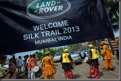Land Rover completes world's first hybrid expedition along Silk Trail from Solihull to Mumbai (7)