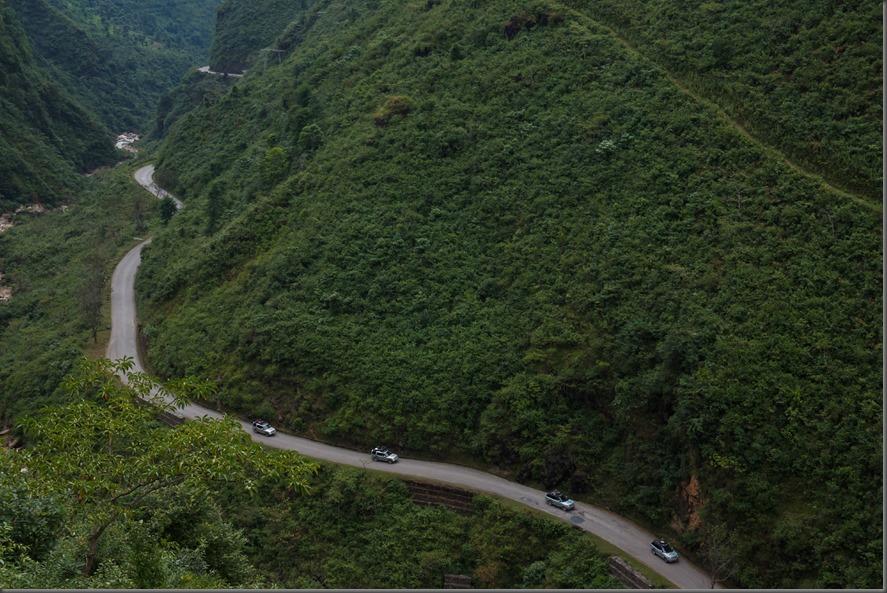 Range Rover Hybrid Prototypes Drive Through Nepal Towards India
