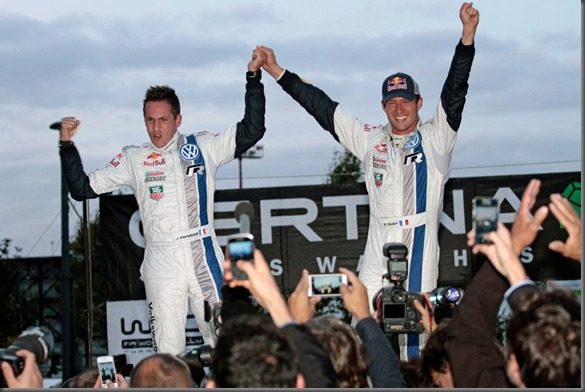 Sébastien Ogier and Julien Ingrassia crowned World Rally Champions with Volkswagen (2)