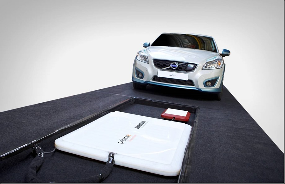 Volvo Car Group completes successful study of cordless charging for electric cars (3)