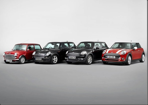 original mini and all modern gen minis