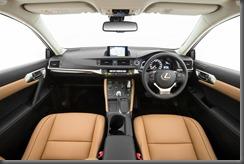 2014 Lexus CT 200h Sports Luxury interior