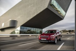 The all-new Jeep Cherokee Limited, powered by the efficient 2.0-liter turbo diesel engine in combination with the new nine-speed automatic transmission or a 6-speed manual transmission, is making its European début at the 84th Geneva International Motor Show, March 3, 2014. A 3.2L automatic engine is also available.