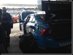 The Volvo V8Supercar garage and the pit stop at V8 supercars Sydney Olympic Park GAYCARBOYS (2)